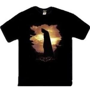 Batman Begins movie poster t-shirt