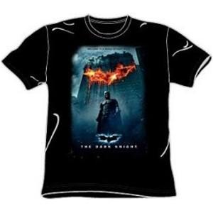 Dark Knight movie poster tee shirt