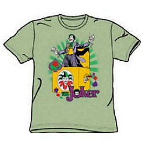 Joker Jack in the Box Batman Shirt