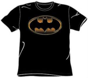 embossed batman t-shirt