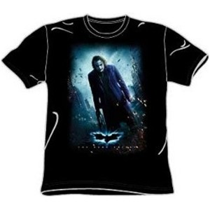 Dark Knight movie poster Joker shirt