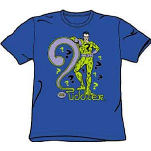batman riddler t-shirt