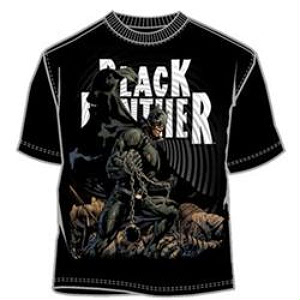 comic black panther t-shirt