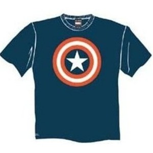 Shield of justice Captain America t-shirt