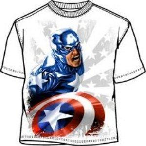 Captain America star man t-shirt