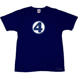 Logo Fantastic Four T-Shirt - Fantastic Four T-Shirts - Marvel Comics ...