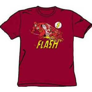 DC Comics Crimson Comet Flash t-shirt