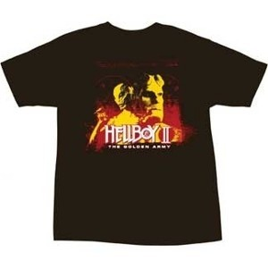 Hellboy, Liz Sherman, and Abe Sapien Hellboy 2 The Golden Army movie t-shirt