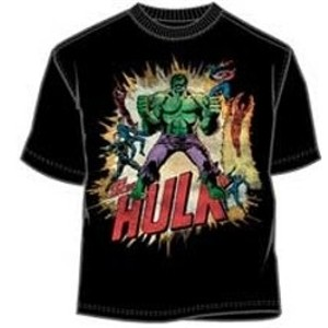 The Hulk and other Marvel Comics superheroes t-shirt