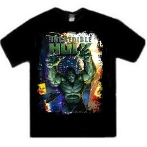 The Incredible Hulk 2008 Hulk movie t-shirt