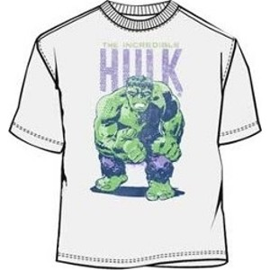 Retro Marvel Comics big fist and name Hulk t-shirt