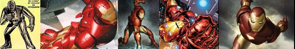 This history of the Iron Man superhero from Marvel Comics