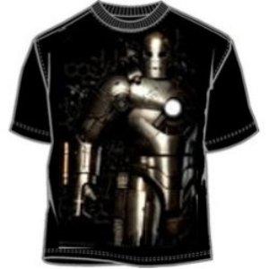 Mach 1 Iron Man suit of armor t-shirt