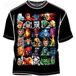 Headstrong Marvel Comics t-shirt