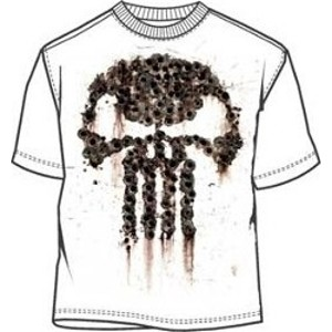 Brown splatter logo Punisher War Zone movie