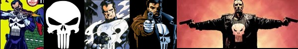 This history of the Punisher superhero from Marvel Comics
