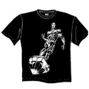 Silver Surfer T Shirt Silver Surfer Tee Shirt Marvel Comics Superhero Tees