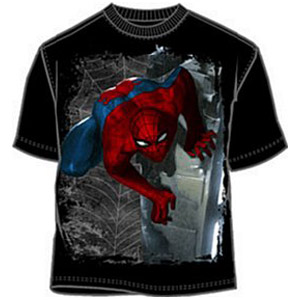 Creeping Spiderman t-shirt
