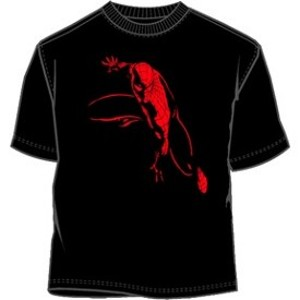 darkness spiderman t-shirt