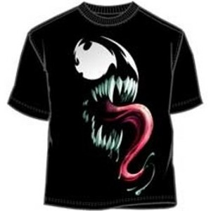 Drooling and big tongue Venom t-shirt