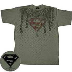 chains superman t-shirt