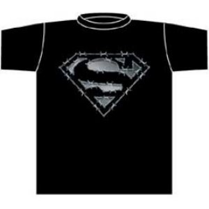 wire superman t-shirt