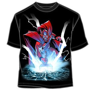 Mighty Thor hammer smash t-shirt