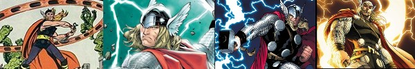 This history of the Mighty Thor superhero from Marvel Comics