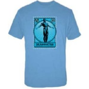 watchmen doctor manhattan t-shirt