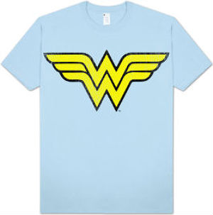 Wonder Woman logo t-shirt