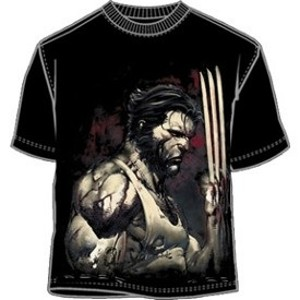 X-Men Wolverine blades t-shirt