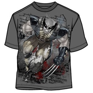 Wallbuster Bloody Wolverine t-shirt