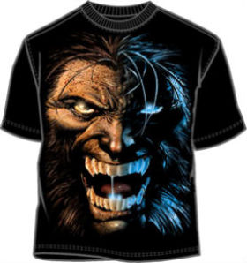 midnight wolverine t-shirt