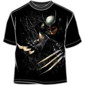 Wolverine attack with adamantium claws t-shirt
